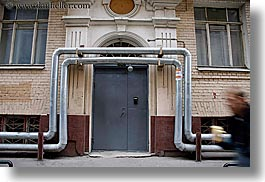 asia, buildings, doors, ducts, horizontal, moscow, over, russia, photograph