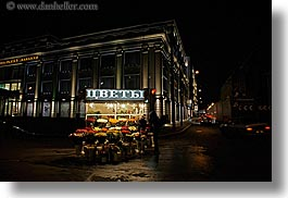 asia, buildings, city scenes, flowers, horizontal, moscow, nite, russia, vendors, photograph