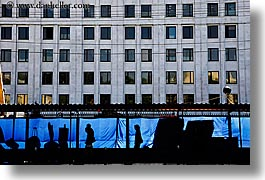 asia, blues, city scenes, colors, horizontal, moscow, russia, tarp, walkers, photograph