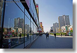 asia, blues, city scenes, cityscapes, colors, horizontal, moscow, reflections, russia, windows, photograph