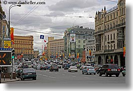 asia, city scenes, downtown, horizontal, moscow, russia, traffic, transportation, photograph