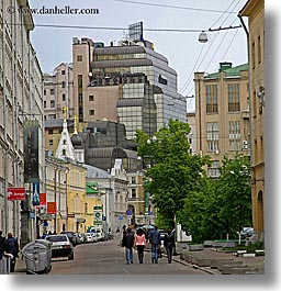 asia, cities, city scenes, moscow, people, russia, square format, streets, walking, photograph