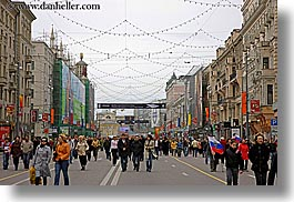 asia, cities, city scenes, horizontal, moscow, people, russia, streets, walking, photograph