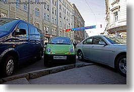 asia, cars, city scenes, horizontal, moscow, russia, threes, photograph