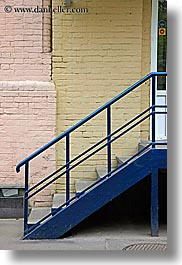 asia, blues, moscow, railing, russia, stairs, vertical, photograph