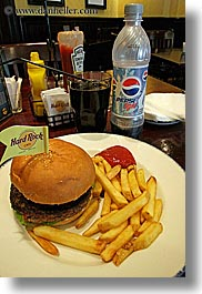 asia, burgers, diet, fries, moscow, pepsi, russia, vertical, photograph