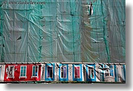 asia, construction, horizontal, moscow, russia, tarp, photograph