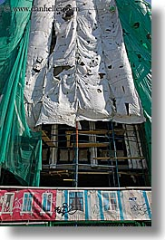 asia, construction, moscow, russia, tarp, vertical, photograph