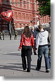 asia, balloons, couples, love you, moscow, people, russia, vertical, photograph