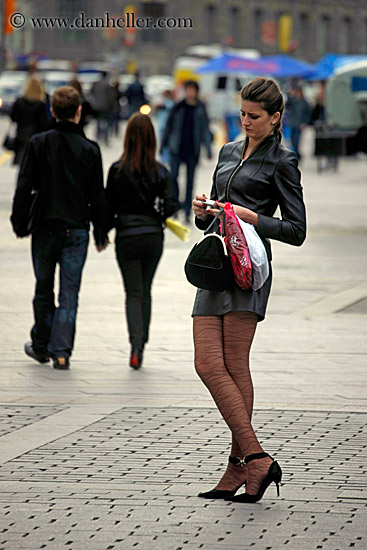 Tall Woman with Long Legs (5