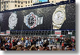 asia, billboards, horizontal, moscow, rolex, russia, signs, watches, photograph