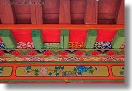 asia, ceilings, colorful, ganden monastery, horizontal, lhasa, tibet, photograph