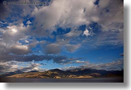 asia, clouds, dunes, horizontal, lakes, landscapes, lhasa, mountains, nature, sand, tibet, water, photograph