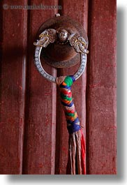 asia, doors, handle, lhasa, potala, tibet, vertical, photograph