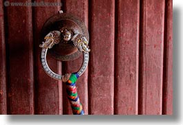 asia, doors, handle, horizontal, lhasa, potala, tibet, photograph