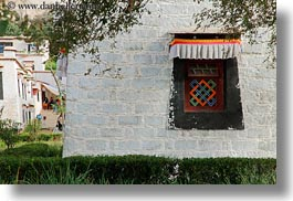 asia, horizontal, lhasa, potala, tibet, windows, photograph