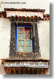 asia, lhasa, tibet, upview, vertical, windows, photograph
