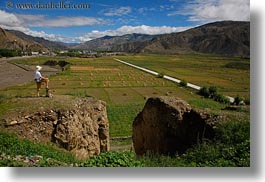 asia, dans, fields, horizontal, men, people, scenics, self-portrait, tibet, yarlung valley, photograph