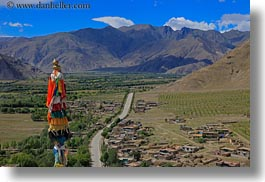 asia, horizontal, landscapes, landsscape, mountains, tibet, yumbulagang, photograph