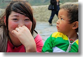 asia, asian, childrens, emotions, girls, horizontal, people, smiles, tibet, tibetan, yumbulagang, photograph