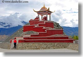 asia, asian, horizontal, kate, roadside temple, style, temples, tibet, yumbulagang, photograph