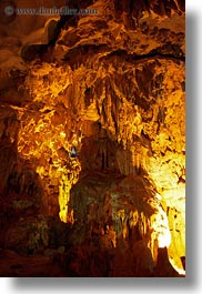 asia, caves, ha long bay, hang song sot caves, lighted, vertical, vietnam, photograph