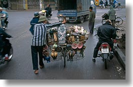 asia, bicycles, bikes, hanoi, horizontal, pottery, stuff, vietnam, photograph