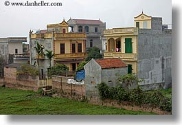 asia, buildings, hanoi, horizontal, vietnam, photograph