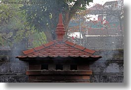 asia, chimney, confucian temple literature, hanoi, horizontal, smoking, vietnam, photograph