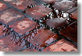 asia, bricks, confucian temple literature, hanoi, horizontal, vietnam, water, photograph