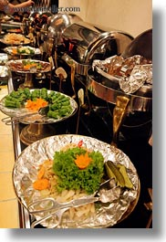 asia, buffet, foods, hanoi, restaurants, vertical, vietnam, photograph