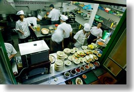asia, busy, hanoi, horizontal, kitchen, restaurants, slow exposure, vietnam, photograph