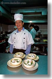 asia, cooks, hanoi, restaurants, vertical, vietnam, photograph