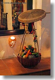 asia, baskets, hanoi, restaurants, vegetables, vertical, vietnam, photograph
