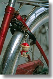 asia, bicycles, bikes, christmas, hoi an, ornaments, vertical, vietnam, wheels, photograph