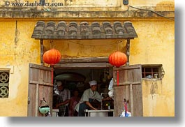 asia, buildings, cafes, cooks, hoi an, horizontal, inside, vietnam, photograph