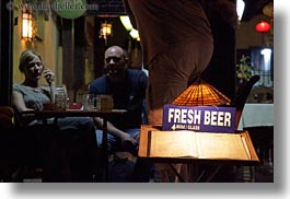 asia, beers, buildings, fresh, hoi an, horizontal, signs, vietnam, photograph