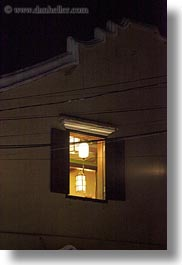 asia, hoi an, illuminated, nite, vertical, vietnam, windows, photograph