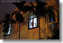 asia, hoi an, horizontal, illuminated, nite, slow exposure, vietnam, windows, photograph
