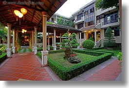 asia, gardens, hoi an, horizontal, hotels, slow exposure, vietnam, photograph