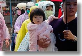 asia, childrens, girls, hoi an, horizontal, people, pink, toddlers, vietnam, photograph