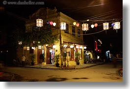 asia, cities, hoi an, horizontal, nite, slow exposure, streets, vietnam, photograph
