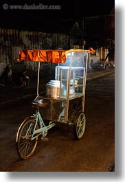 asia, hoi an, machines, nite, popcorn, streets, vertical, vietnam, photograph
