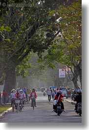 asia, bikes, crowds, hue, motorcycles, vertical, vietnam, photograph