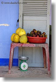 arts, asia, fruits, hue, khai dinh, red, tables, vertical, vietnam, photograph