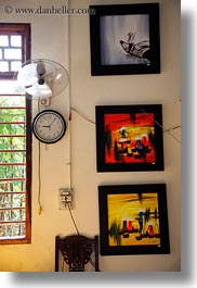 asia, clocks, hue, paintings, vertical, vietnam, photograph