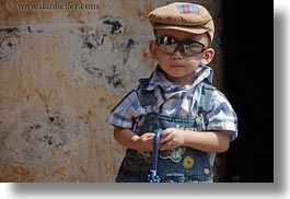 asia, asian, boys, childrens, horizontal, hue, people, sunglasses, toddlers, umbrellas, vietnam, photograph