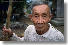 asia, asian, horizontal, hue, men, old, people, senior citizen, vietnam, photograph