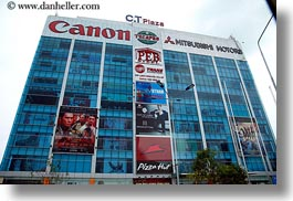 asia, billboards, buildings, horizontal, saigon, vietnam, photograph