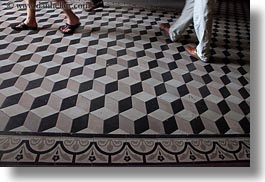 asia, cubic, feet, floors, horizontal, post office, saigon, vietnam, walking, photograph